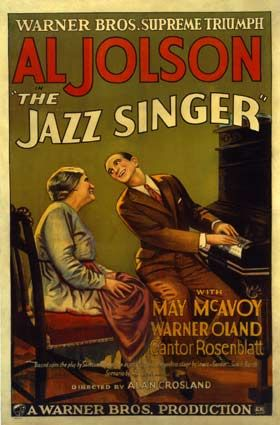 The Jazz Singer/1st talkies film